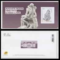 """Bloc Souvenir 2017 - N° 137 - Auguste Rodin """"Le Baiser"""" - Neuf** Luxe - Sous Blister Fermé - Souvenir Blocks & Sheetlets"""