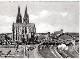 DE-NW: KÖLN Am Rhein: Dom Und Hauptbahnhof - Dampfbetrieb - Koeln