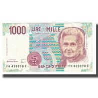 Billet, Italie, 1000 Lire, 1980, KM:114b, TTB - 1000 Lire