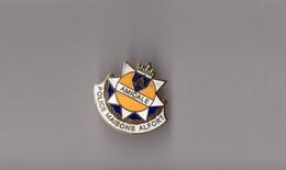 Pin's Amicale De La Police De Maisons Alfort (EGF Doré) Hauteur: 2,3 Cm - Police