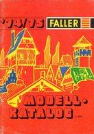 Catalogue  FALLER 1974-75 Modellhus Auto Racing Hit Car Hit Train + Preis - En Suédois - Other