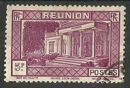 Reunion - 1933 Leon Dierx Museum 5f Used   SG 172   Sc 164 - Reunion Island (1852-1975)
