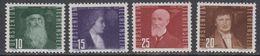 Liechtenstein 1948 Airmail / Flugpost 4v  ** Mnh (43988A) - Luchtpostzegels