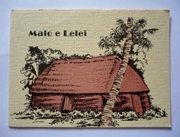 Cpsm Grand Format Ouvrante  - TONGA - MALO E LELEI - Tonga