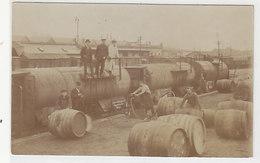 Weintransporte Metzger, Wien - Super Orig.-Photokarte           (A-108-160424) - Eisenbahnen