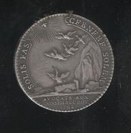 Jeton Avocats Au Conseil Du Roi 1762  TTB++ Trace D'une Bellière Soudée - Royaux / De Noblesse