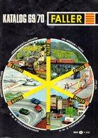 Catalogue  FALLER 1969-70 Modellhus Auto Racing Hit Car  - En Suédois - Livres Et Magazines