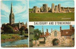 Salisbury Stonehenge Dolmen Menhirs Multi View - Dolmen & Menhirs