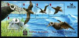 Tristan Da Cunha 2001 Bird Life International MS, MNH, SG 724 - Tristan Da Cunha