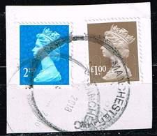 GB 2014, Michel# 3861 O Queen Elizabeth II - Security Machin - MPIL, M16L - 1952-.... (Elisabeth II.)