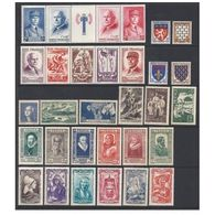 France Année 1943 Ccomplète* Neuf Avec Charnière /mint-hinged - 1940-1949