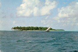 MALDIVES-UNINHABITED ISLAND-NON  VIAGGIATA    FG - Maldive