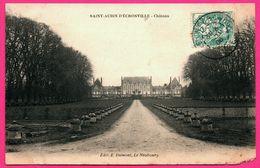Saint Aubin D'Ecrosville - Château - Façade - Edit. E. DUMONT - 1908 - Saint-Aubin-d'Ecrosville