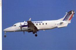 Air France -   Beech 1900D  -  F-GPSD  C/n UE-303  -   Nantes 2002    -  CPM - 1946-....: Ere Moderne