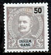 !■■■■■ds■■ Inhambane 1903 AF#21(*) King Carlos Mouchon 50 Réis (x2521) - Inhambane