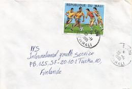 Mali 1995 Segou World Cup Football Soccer Italia 225f Cover - Mali (1959-...)