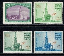 K.S.A. 1976  Yv  415**, 433**, 435**, 437**   MNH - Arabie Saoudite