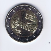 Malta - 2 Euro Commemorativo Anno 2019 - Templi Di Ta' Magrat - Malta