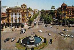 SPAGNA - SEVILLA - PUERTA DE JEREZ - VIAGGIATA 1971 - Sevilla (Siviglia)