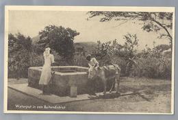 US. CURACAO. Waterput In Een Buitendistrict. Ezel. Uitgave: R.K. Zeemanshuis. Ongelopen. - Curaçao