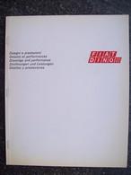FIAT DINO SPIDER E COUPE' DISEGNI E PRESTAZIONI - Engines