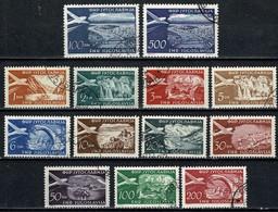 Jugoslavia  1951/52  Yv PA 32/40A (o), Les 13 Val. Used - Poste Aérienne