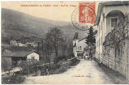L'ABERGEMENT-DE-VAREY 01 AIN RUE DU VILLAGE EDIT. FERRAND - Autres Communes