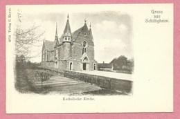 67 - GRUSS Aus SCHILTIGHEIM - Katholische Kirche - Schiltigheim