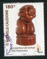 """TIMBRE Oblit. De 2009 """"180 F -  """"Le Porteur De Tortue"""" - Neukaledonien"""