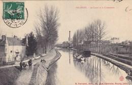 Saône-et-Loire - Palinges - Le Canal Et La Cimenterie - France