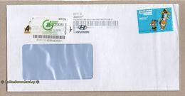 BRD - Privatpost - BWPost / Arriva - Umschlag Mit Marke: Comic Lang-Film - [7] Federal Republic