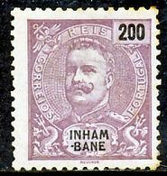 !■■■■■ds■■ Inhambane 1903 AF#27(*) King Carlos Mouchon 200 Réis (x1271) - Inhambane