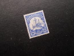 D.R.Mi 27  20P(*)UNG - Deutsche Kolonien ( Deutsch-Südwestafrika ) 1906  Mi 1,20 € - Kolonie: Duits Zuidwest-Afrika