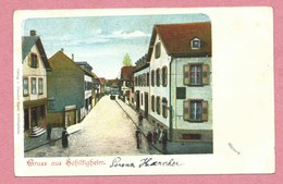 67 - GRUSS Aus SCHILTIGHEIM - Rue - Strasse - Schiltigheim