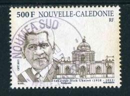 """TIMBRE Oblit. De 2015 """"500 F - Sénateur Dick Ukreiwë - Neukaledonien"""