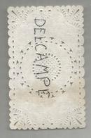 Papier Dentelle 6 X 11 Cm - Paper Napkins (decorated)