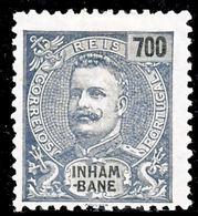 !■■■■■ds■■ Inhambane 1903 AF#30* King Carlos Mouchon 700 Réis (x1274) - Inhambane