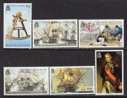 Tristan Da Cunha 2005 Bicentenary Of Battle Of Trafalgar I Set Of 6, MNH, SG 811/6 - Tristan Da Cunha
