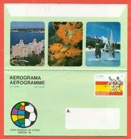 SPORT- CALCIO - CAMPIONATO DEL MONDO 1982 - AEROGRAMMA - INTERI POSTALI - Cuba