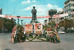 TUERKIYENIN KALBI-ANKARA-PLACE DE VICTOIR- VIAGGIATA     FG - Turchia