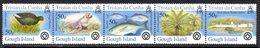 Tristan Da Cunha 2005 Islands II, Gough Strip Of 5, MNH, SG 823/7 - Tristan Da Cunha
