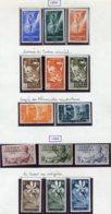 14061 GUINEE ESPAGNOLE Collection Vendue Par Page N° 325/7, 328/30, 331/2, 333/5, 336/8   */ ° 1951-52   B/TB - Guinea Spagnola