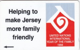 Jersey, 30 JER A, Year Of The Family '94, Only 10.000 Issued, 2 Scans. - Ver. Königreich
