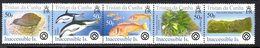 Tristan Da Cunha 2005 Islands III, Inaccessible Strip Of 5, MNH, SG 828/32 - Tristan Da Cunha
