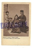 Missions De Scheut. Mariage Mongol. Nouvelle Coiffure - Missions
