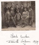 Trois Ponts Coupure De Presse 1929 Haute Bodeux  Famille Lejeune   / Article Les Beaux Foyers De Belgique - Zonder Classificatie
