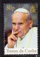 Tristan Da Cunha 2005 Pope John Paul II, MNH, SG 845 - Tristan Da Cunha