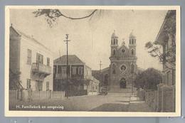 US. CURACAO. H. Familiekerk En Omgeving. Old Car.. Uitgave: R.K. Zeemanshuis. Ongelopen. - Curaçao