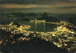 BRASIL TURISTICO-RIO DE JANEIRO- VIAGGIATA     FG - Rio De Janeiro