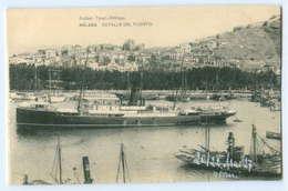 T2995/ Spanien Malaga Detalle Del Puerto 1927 AK - Espagne